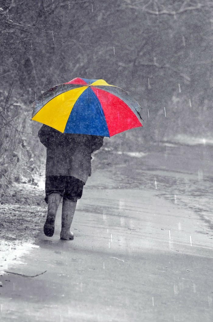 11. An umbrella: It can be a perfectly clear day, and the heavens will open up out of nowhere and you'll be caught in a monsoon. Bring an umbrella, even when it doesn't look like rain.