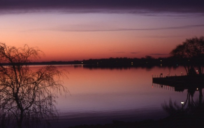 2. I love this shot of Lake Winnebago, capturing the moments just before everyone's day gets started.