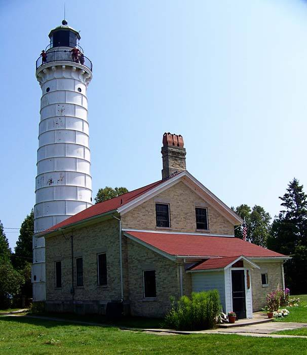 8. Cana Island Lighthouse (Door County, WI)