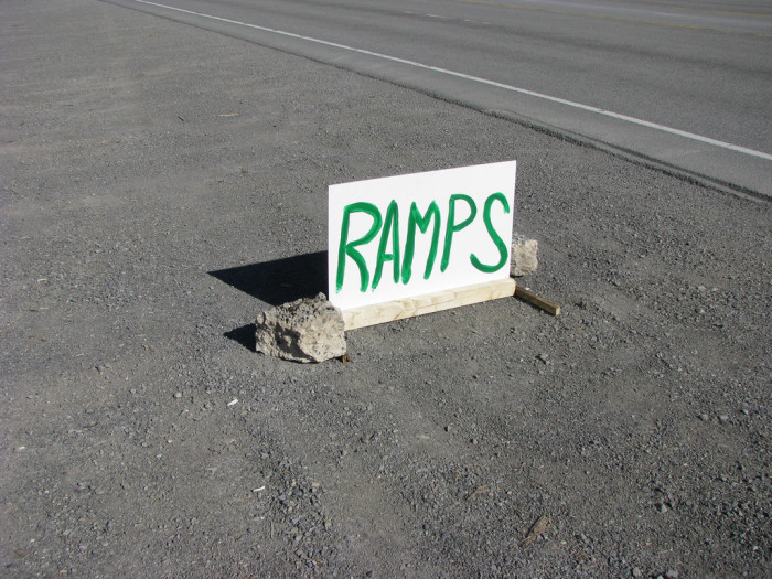 """8) """"Pull over, they have ramps!"""""""
