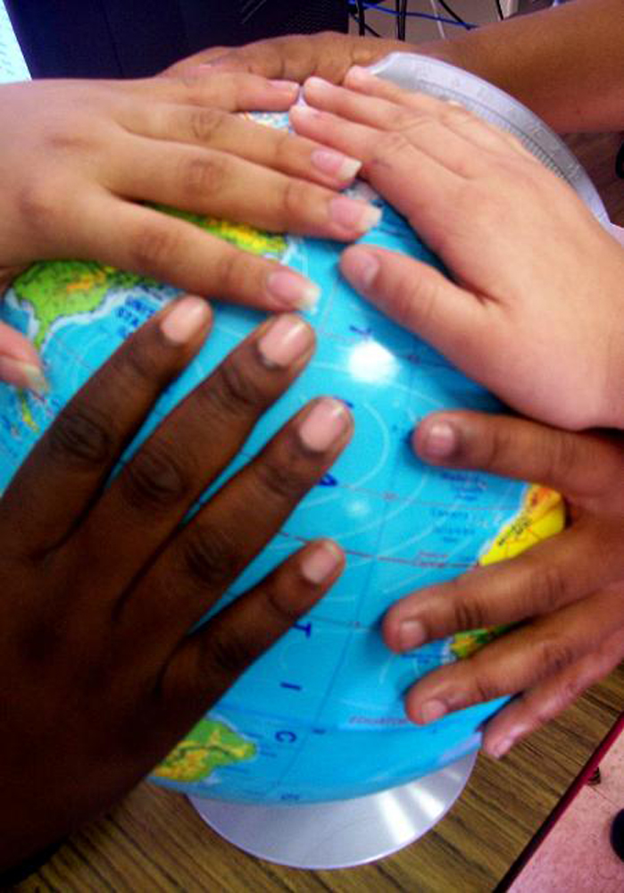 7. There are a variety of cultures and languages here which is great for children.