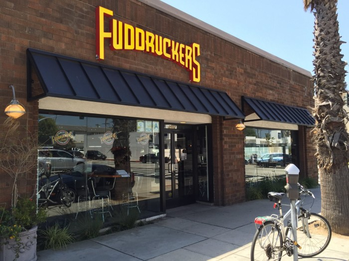 9.) Fuddruckers - a franchised restaurant chain that specializes in hamburgers.