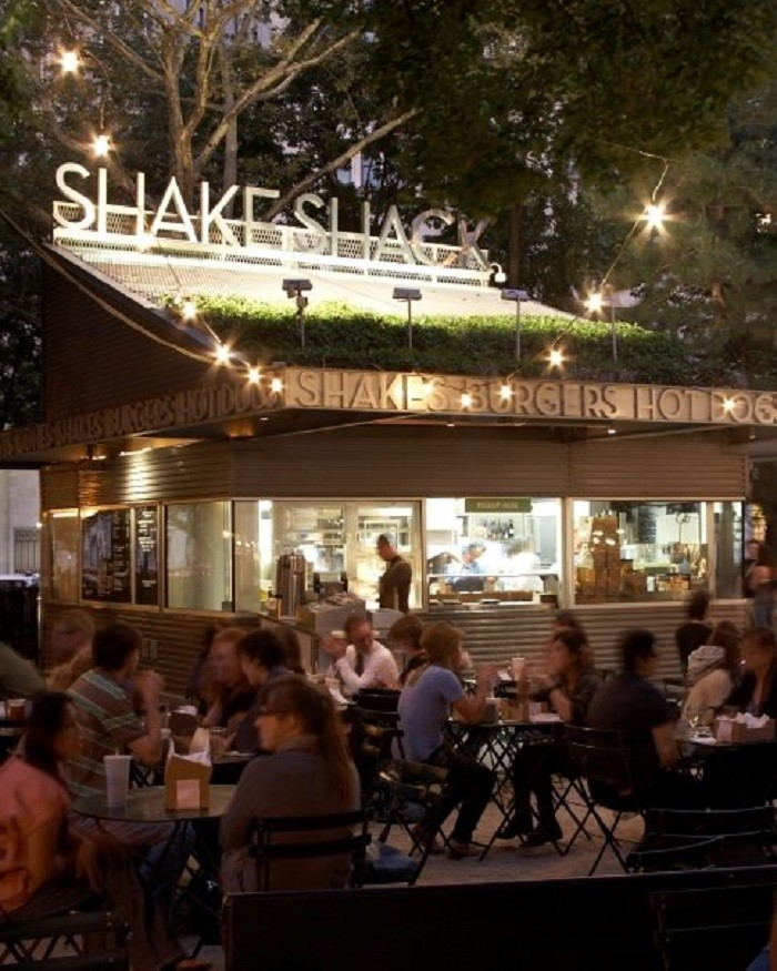 10.) Shake Shack - a restaurant chain that's based in New York City and is well known for its amazing hamburgers, hot dogs, fries, and of course, milkshakes.