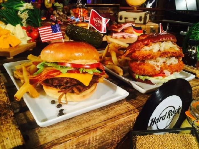 restaurant 9 hard rock cafe food