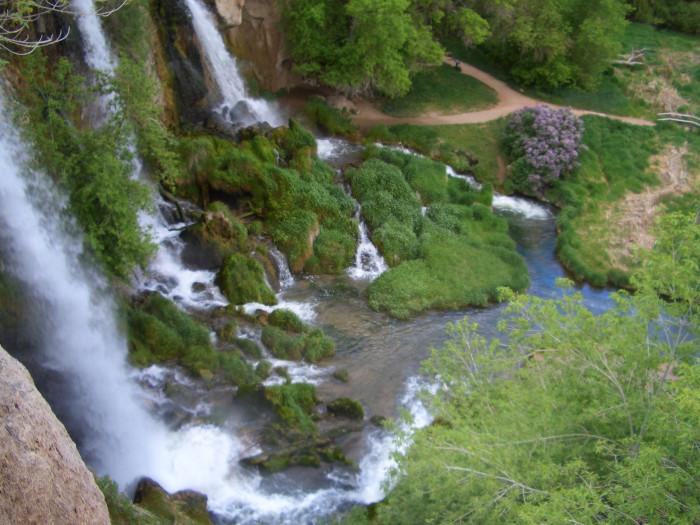 7.) Rifle Falls State Park