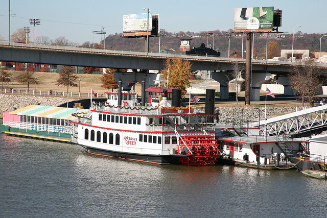 1. Dondie's White River Princess: Located on the shore of the White River in downtown Des Arc, this popular place is patterned after an old riverboat.