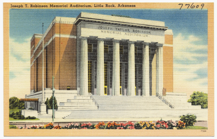 38. Robinson Memorial Auditorium: Currently again in the process of renovation, this downtown Little Rock landmark is on the National Register of Historic Places.