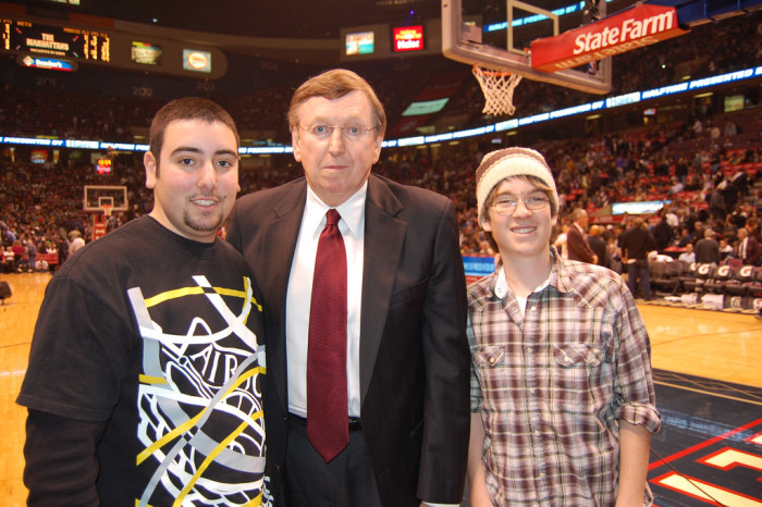 2) Rod Thorn, born on May 23, 1941 in Princeton, WV, is the President of the Philadelphia 76ers.
