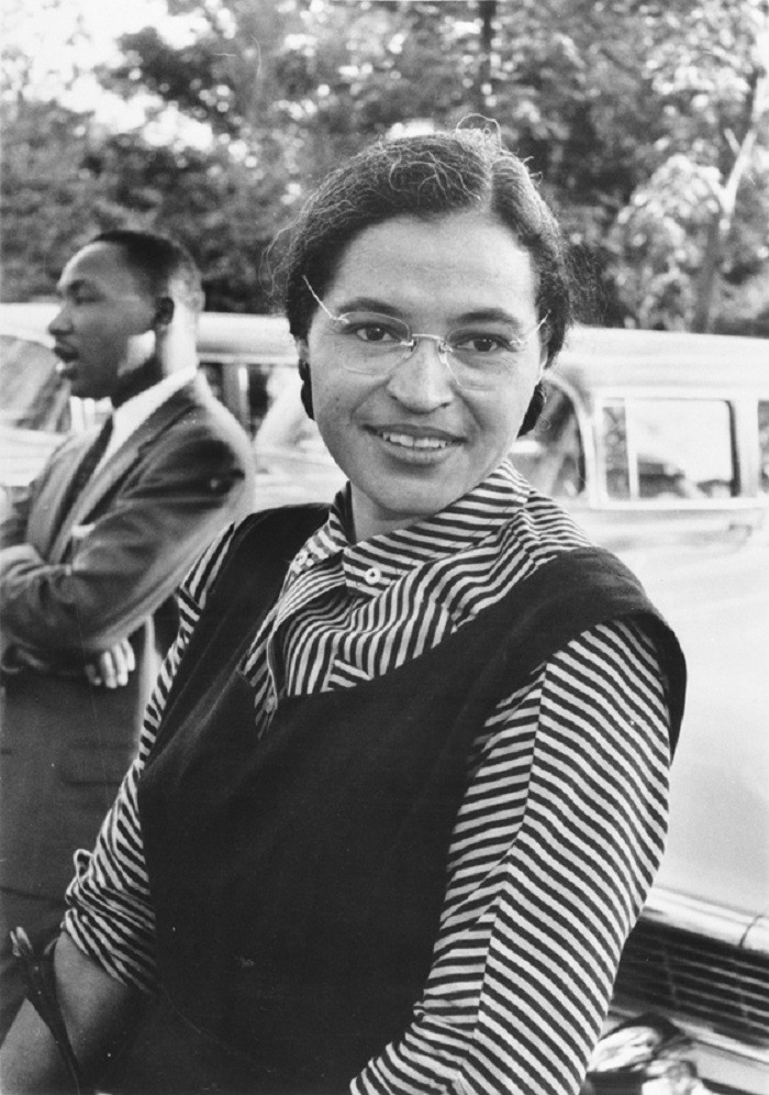 and Rosa Parks.