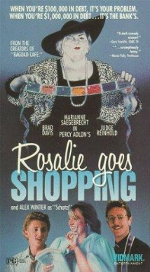 12. Rosalie Goes Shopping (1989): A quirky, comical critique of American consumerism, this film reflects the growing international, digitized nature  of debtor economics and underlines the fact that consumerism is not limited to those living in large cities. Filmed almost entirely in Arkansas, this  German-produced film is centered in Stuttgart, Arkansas, a town founded, not coincidentally, by German settlers.