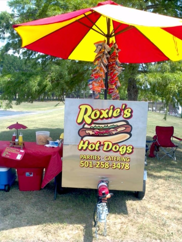 15. Roxie's Hot Dogs: This popular Little Rock food truck is a mainstay at food truck festivals in the capital city.