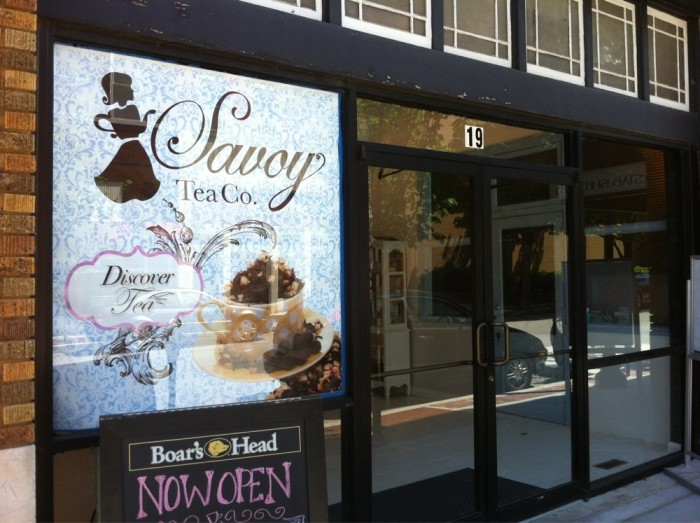 12. Savoy Tea Company in Fayetteville: Try the assortment of uniquely-flavored cupcakes at this tearoom known for its exquisite and rare blends of fine tea!