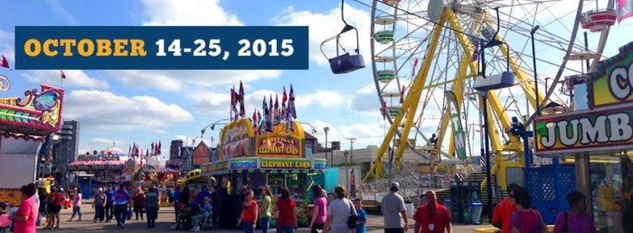 12. SC State Fair - Held in Columbia, SC. Who doesn't love a day at the fair? The sights, the sounds, the carnival fare. It's family fun to be sure!