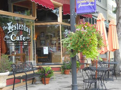 The Yesterday Cafe, 114 N Main St, Greensboro, GA 30642