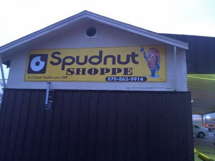 37. Spudnut Shoppe Company in El Dorado: This bakery specializes in potato flour donuts, plus they also serve coffee, croissants & baked goods here.