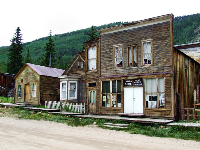 16.) Ghost Town of St. Elmo, Colorado