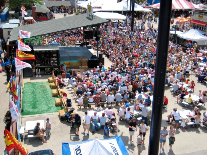 20. The Wisconsin State Fair is off the charts.