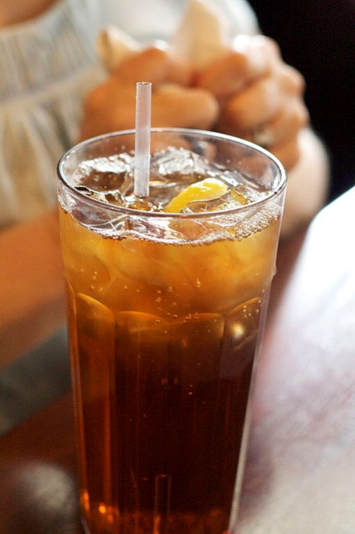 4. Iced tea is a favored drink of almost all southerners.