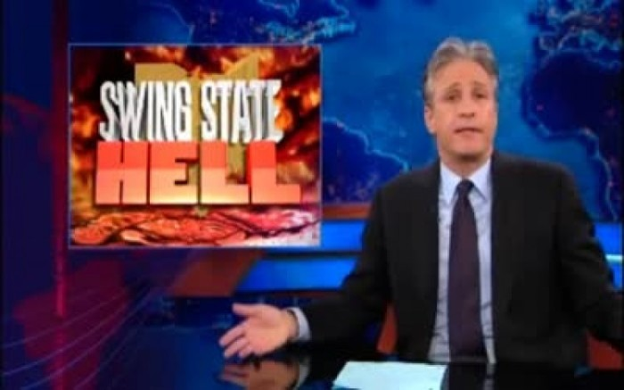 "6) Jon Stewart even called us ""Swing State Hell."" So, there's that."