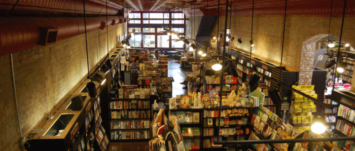 2. Taylor Books in Charleston.
