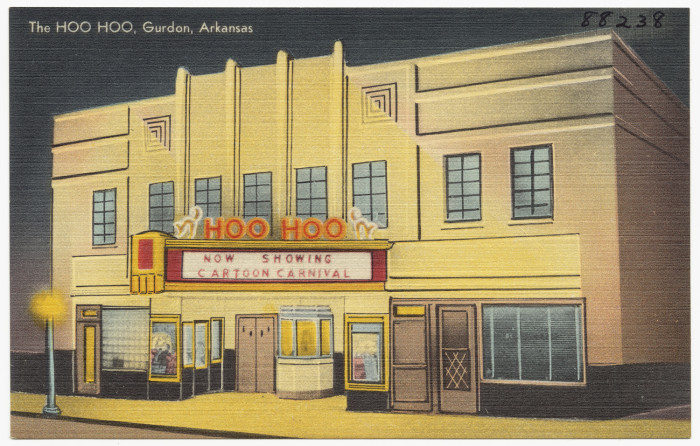 27. The Hoo Hoo: This quirky-named theater was located in Gurdon, Arkansas.
