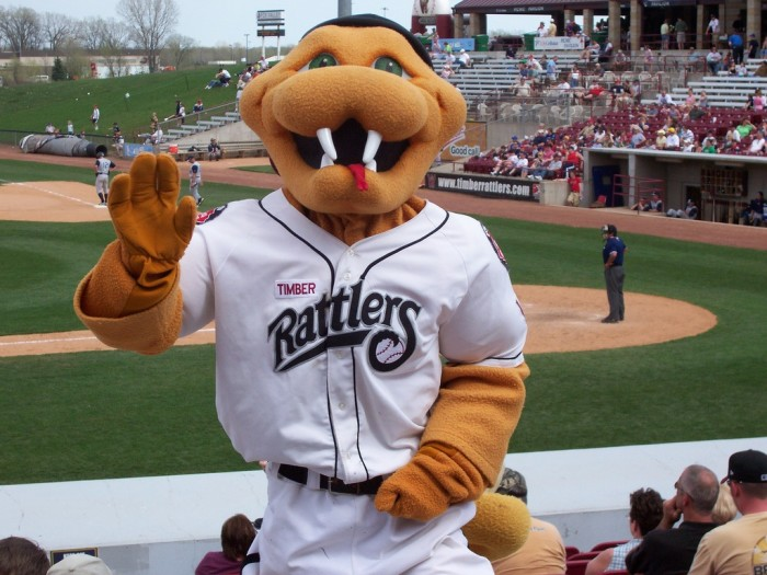 6. The Timber Rattlers are the Class-A Affiliate of the Milwaukee Brewers. So why not just see the Brewers play? Well, yes--see the Brewers. But going to the Timber Rattlers game is great for baseball fans and non-fans alike. The fabulous arena is located in Grand Chute. Admission is very cheap, and there are often nights where concessions (including beer!) are also very inexpensive. They often do themed nights such as Star Wars, where a lot of people dress up and get into it. It's fun for the whole family. Also--when else are you going to get baseline field level seats for $25?
