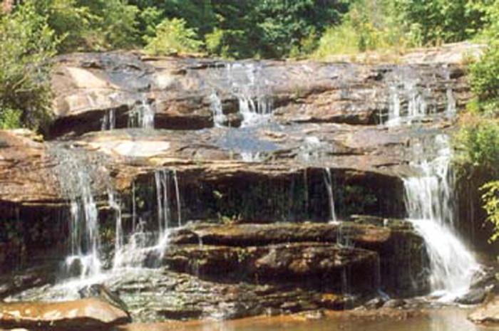 9. Todd Creek Falls