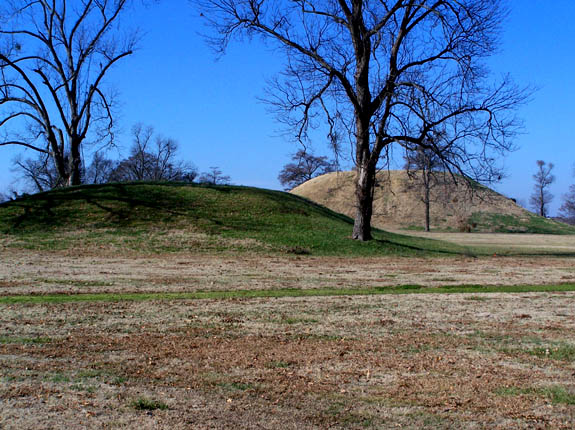 13. Toltec Mounds: This historic location is an archaeological site from the Late Woodland period in Arkansas that protects an 18-mound complex with the tallest surviving prehistoric mounds in Arkansas.