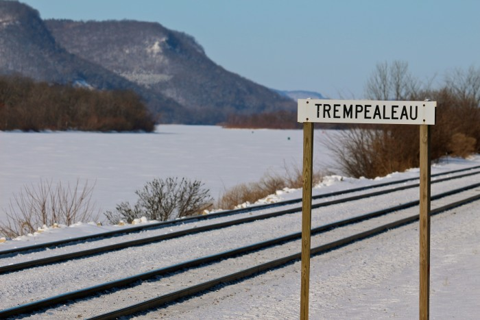 """Trempealeau. Try saying that ten times fast. It comes from the French meaning """"plunge into the water."""""""