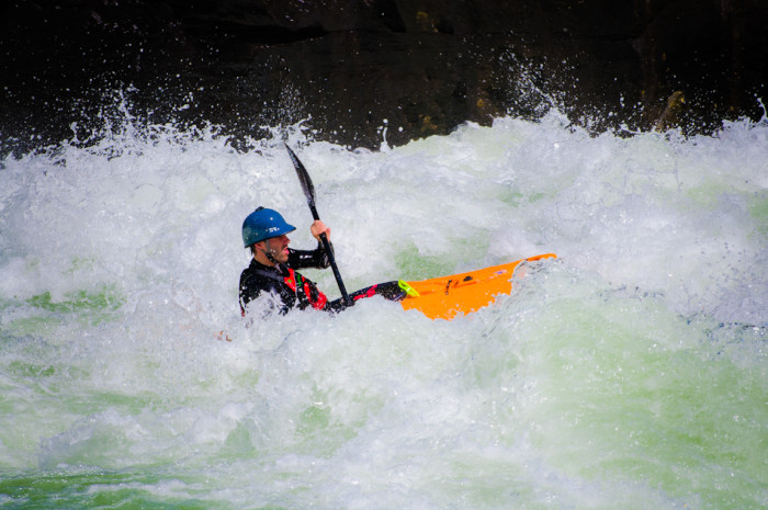 "The Gauley River is referred to as ""The Beast of the East."""