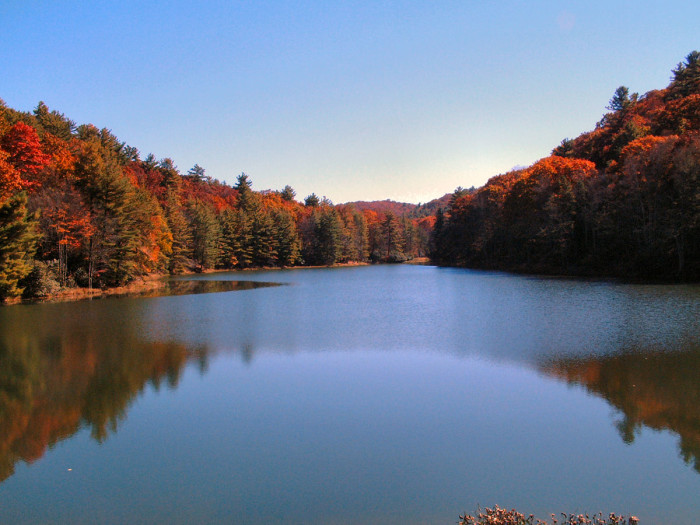 17) Watoga State Park is located in Marlinton, WV.