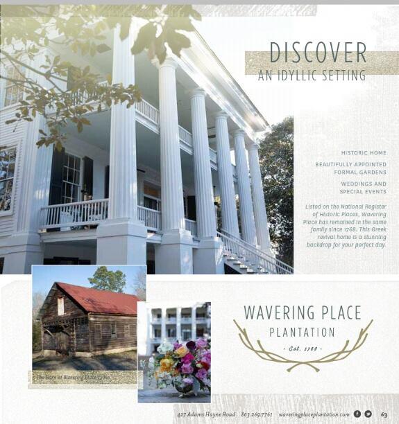 5. Wavering Place Plantation, Eastover, SC