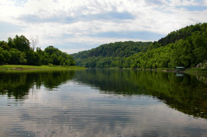 10. West Fork White River: This swimming spot is a part of the Upper White River, a long river that flows northwest through Fayetteville, Arkansas and into Lake Sequoyah then north into Beaver Lake before crossing the Missouri State Line.