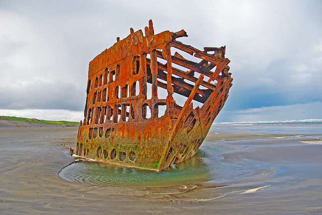 13) Wreck of the Peter Iredale, Hammond