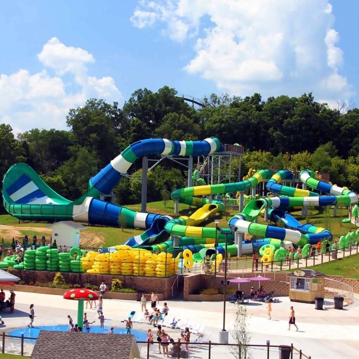 Splashin Safari At Holiday World Water Park