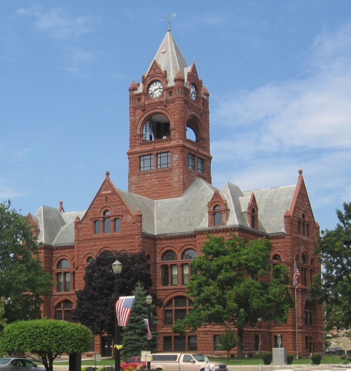 10. La Porte County is the only county in the United States that is home to two fully functioning courthouses.