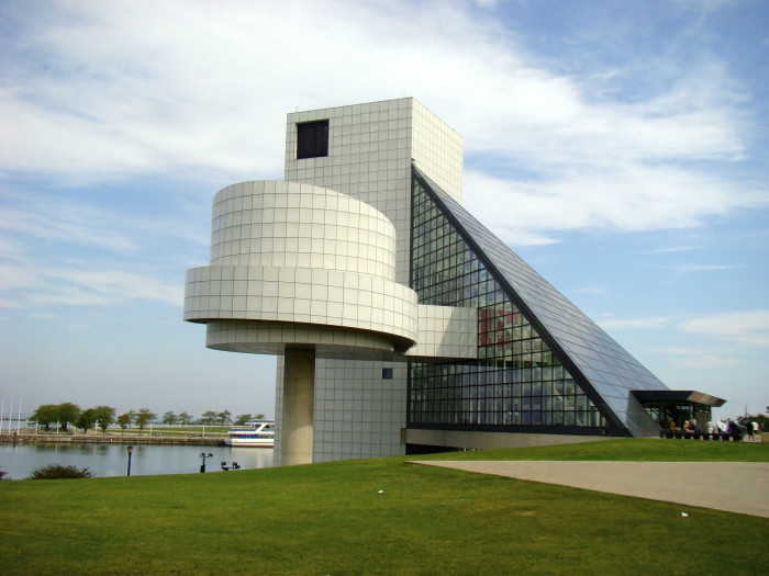 6) Rock and Roll Hall of Fame (Cleveland)