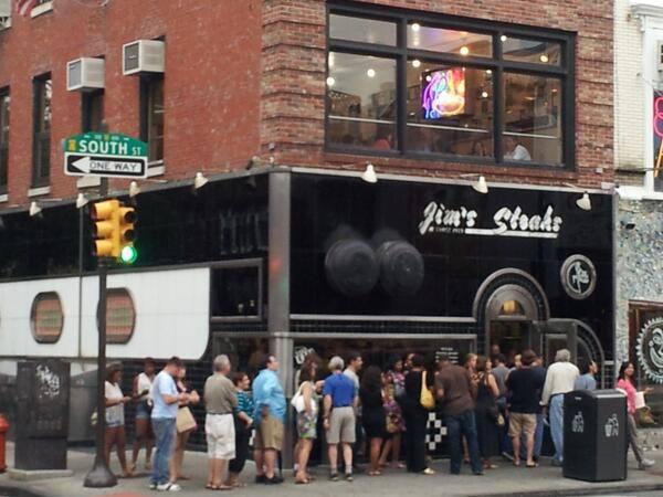 Jim's Steaks, South Street, Philadelphia