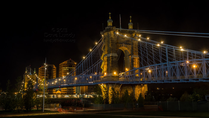 2) John A. Roebling Suspension Bridge (Cincinnati)