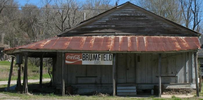 10. Brumfield Grocery Store