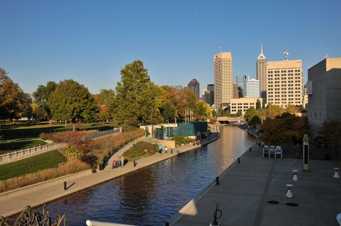 1. Indianapolis, Indiana