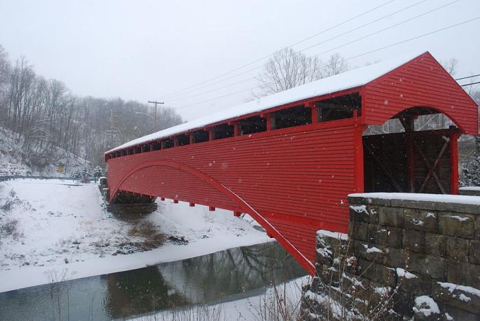 7. Barrackville Covered Bridge