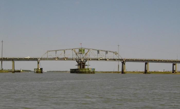 10. Ben Sawyer Bridge, Sullivan's Island, SC