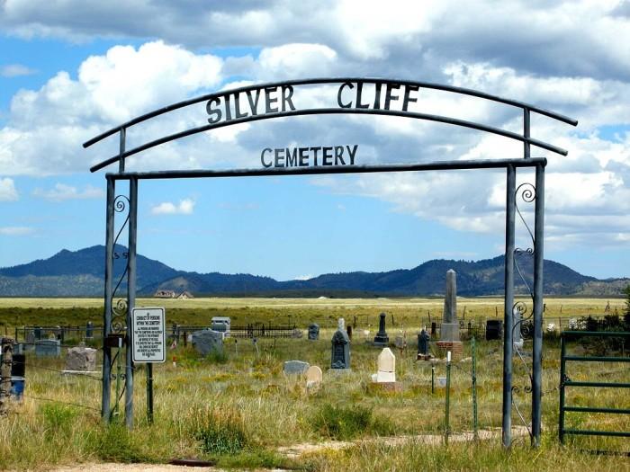 6.) Silver Cliff Cemetery (Silver Cliff)