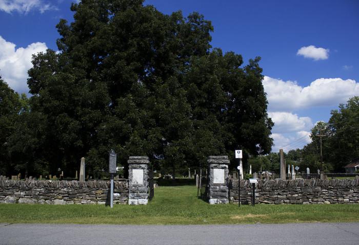 12) Franklin City Cemetery - Franklin