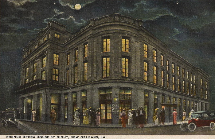 10) The first opera performed in America  took place in 1796 in the French Quarter of New Orleans, LA.