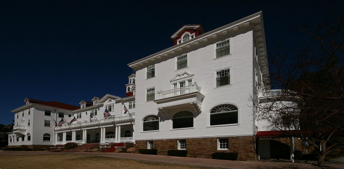 """5.) Checking out that hotel from """"The Shining"""""""