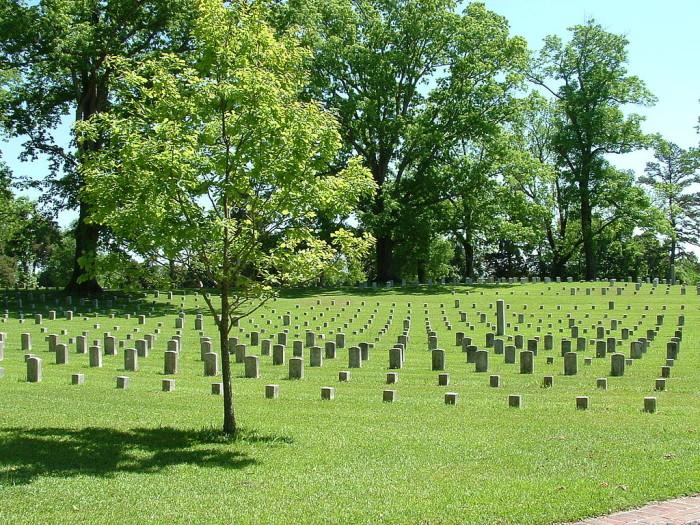 10) Shiloh National Military Park - Savannah