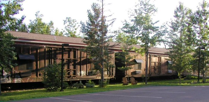 3. Northern Rail Traincar Inn - Another Two Harbors treasure, you can stay in renovated train cars for a taste of something different.