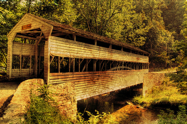 6. Valley Forge Covered Bridge